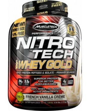 Miscletech Nitro Tech Whey Gold