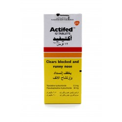 Actifed 12 Tablets