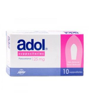 Adol Suppositories 125mg