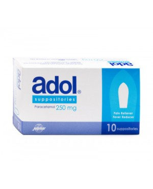 Adol Suppositories 250mg