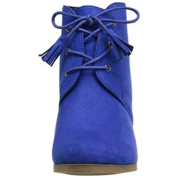 Brinley Co Women's Whit Ankle Blue