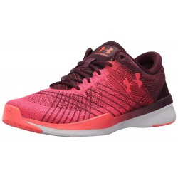 Under Armour Women's Threadborne Push Raisin Red
