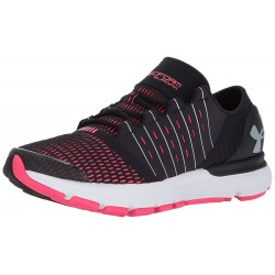 Under Armour Women's Speedform Black Penta Pink