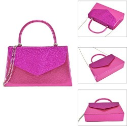 Dasein Women's Evening Bags Party Hot Pink