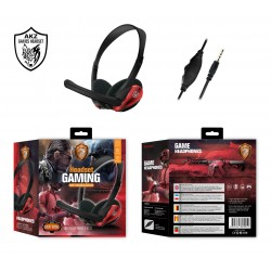 PUBG headset red color
